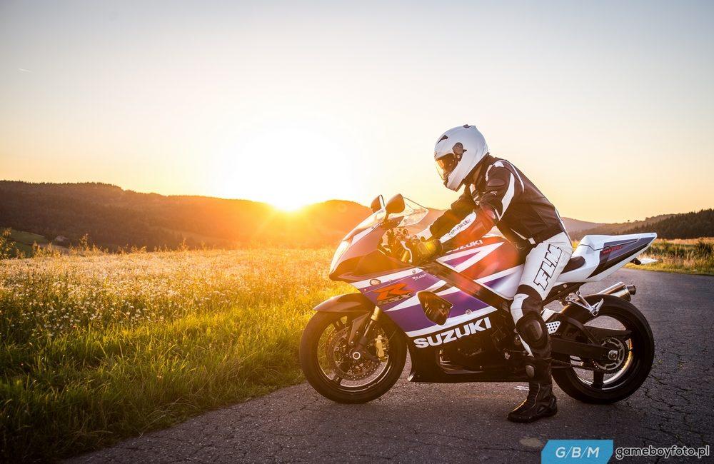 Dominik i Suzuki GSX-R 1000