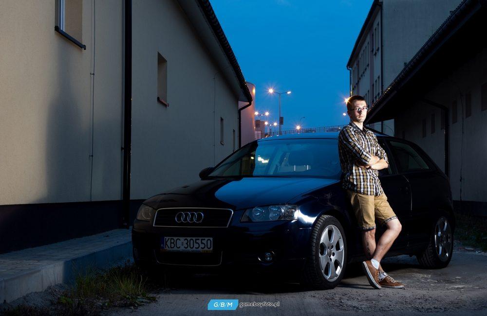 Jarek i jego Audi A3
