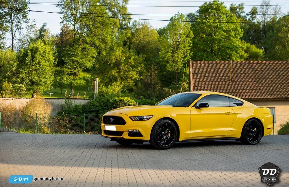 Ford Mustang po wizycie W AUTO SPA DD CAR DETAILING BOCHNIA